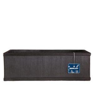 Vertical Ribbed Vintage Style Faux Lead Window Box H17 L60 W17 cm Planter