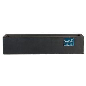 Window Box Light Concrete Dark Grey Planter L40 W17 H17.5 cm by Idealist Lite