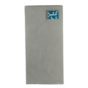Tall Square Contemporary Grey Light Concrete Planter H70 L33 W33 cm
