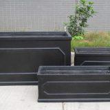 Faux Lead Chelsea Trough Light Stone Planter W30 H30.5 L71 cm