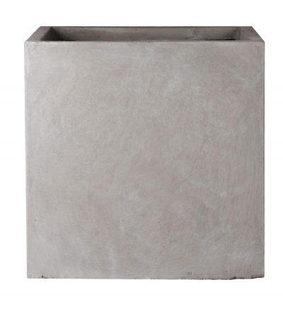 Square Box Contemporary Grey Light Concrete Planter H32 L35.5 W35.5 cm